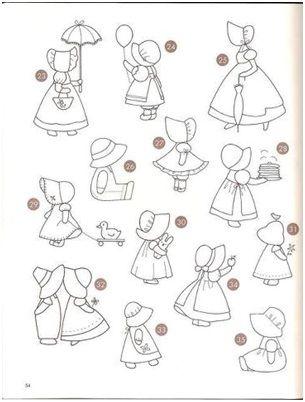 patrones muñecas de patchwork