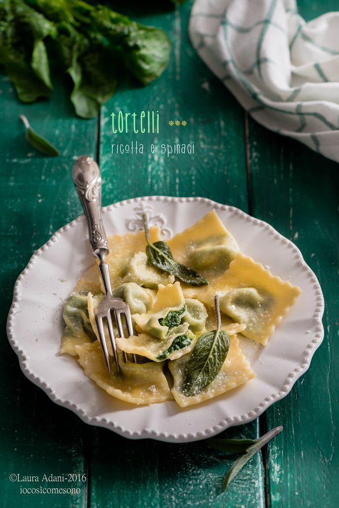 tortelli di ricotta e spinaci  http://iocomesono-pippi.blogspot.it/2016/03/tortelli-di-ricotta-e-spinaci-stuffed.html