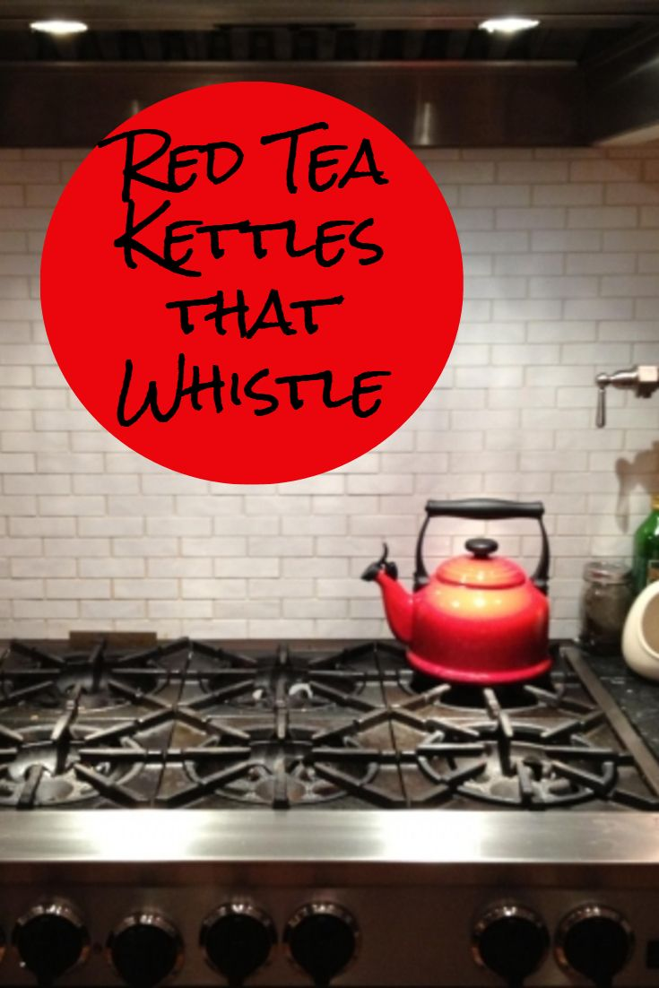 Perfect gift for a person that loves to drink tea. Here is my selection of the best whistling tea kettles this year. Red Tea Kettles that Whistle