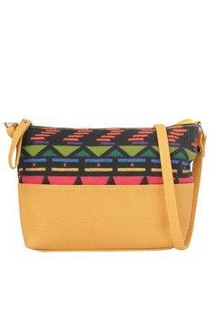 Two-toned Mini Sling Bag