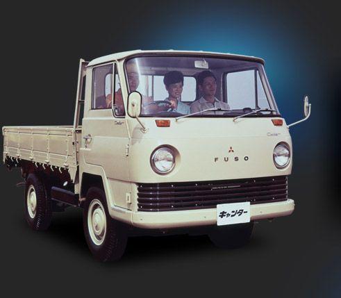三菱キャンター50周年【History】|三菱ふそうトラック・バス株式会社