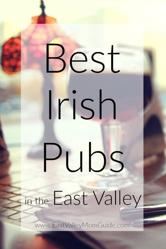You don't have to be Irish, like I am, to enjoy a good beer and traditional Irish pub fare. These are some of my favorite and the best Irish Pubs in the East Valley, Arizona.