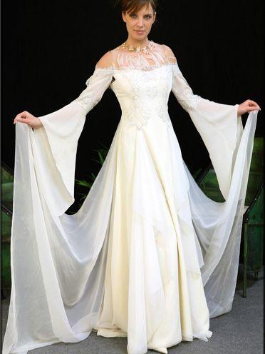 Robe de mariée (Médiéval) - Solstiss de Léa Madeleine Couture