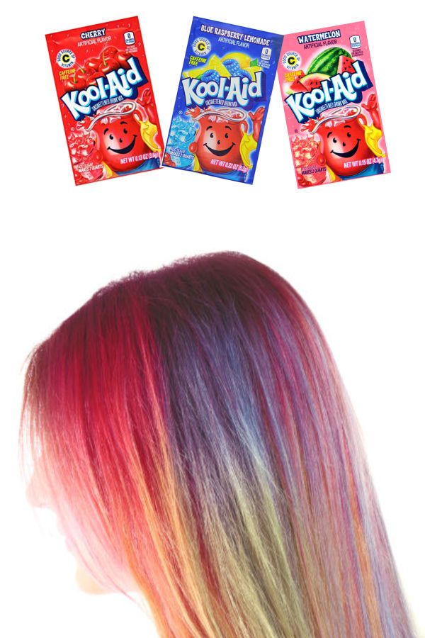 Kool Aid Hair Dye Kool Aid Hair Kool Aid Hair Dye Homemade