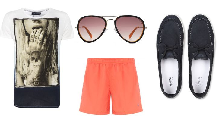 What time it is? IT'S SUMMER TIME! TAKE YOUR SWIMSUIT OUT! mens outfit !