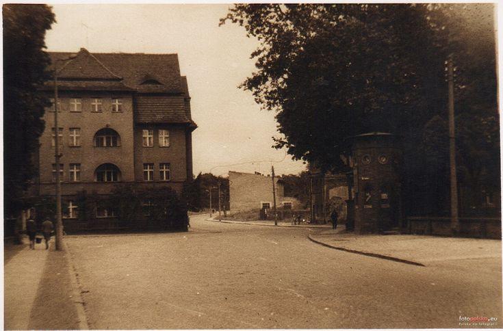 ul. Szprotawska (Sprottauer Strasse), Żagań - 1962 rok, stare zdjęcia