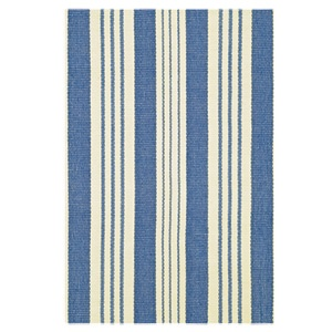 Striped cotton rug  by dash and albert.