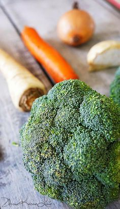 Zupa brokułowa, czyli dzień 7 na poście :-)
