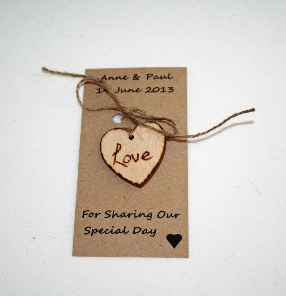 Love Tokens Wedding Favours Personalised Favours by Melysweddings, £0.90