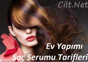 Evde saç serumu yapımı tarifleri