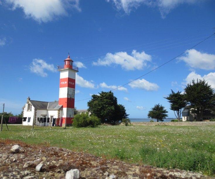 Phare de Pen Lan à Billiers dans le Morbihan | Pen Lan Lighthouse