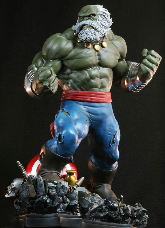 Hulk Maestro statue Sculpted by: Randy Bowen (sculpted statue) and Troy McDevitt (sculpted pants) Release Date: December 2009 Edition Size: 800 Order Of Release: Phase IV (statue #184)