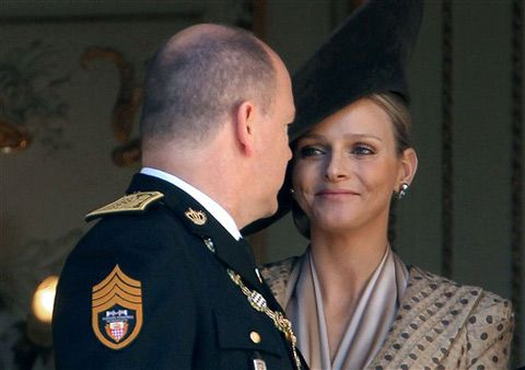 monaco royal family | The Monaco Royal family\'s future bride, Charlene Wittstock posed her ...