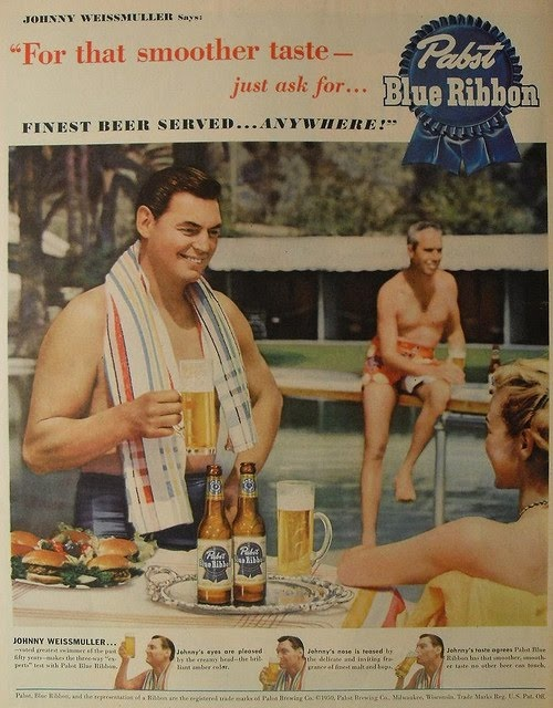 PBR: Beer Advertisements, Pbr, Alcohol Ads, Vintage Advertisement, Vintage Ads, Pabst Blue
