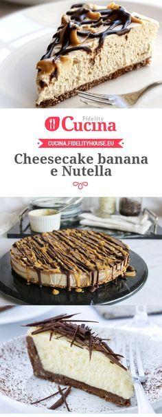Cheesecake banana e Nutella