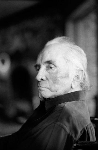 Photo Credit: © Marty Stuart. John R. Cash, Last Portrait, September 8, 2003, 2003. Archival pigment print.