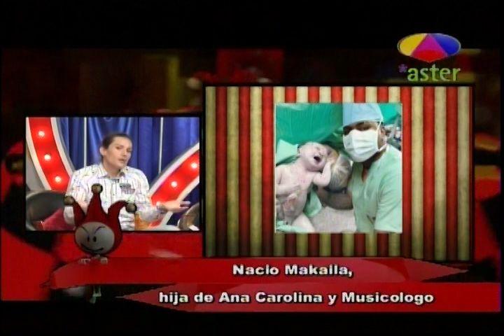 Los Dueños Del Circo Critican La Foto Al Rojo Vivo Del Nacimiento Hija Ana Carolina Y Musicólogo
