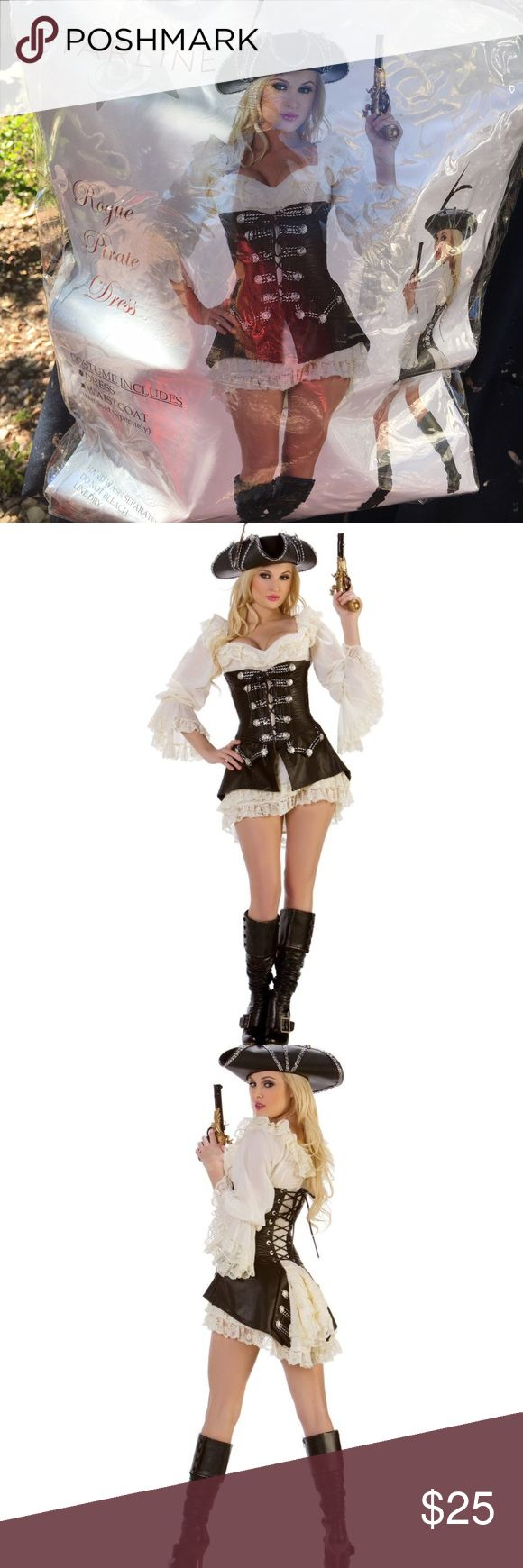Sexy pirate costume Complete sexy pirate costume. Worn once. In great condition. Includes matching boots, hat and gun. Other