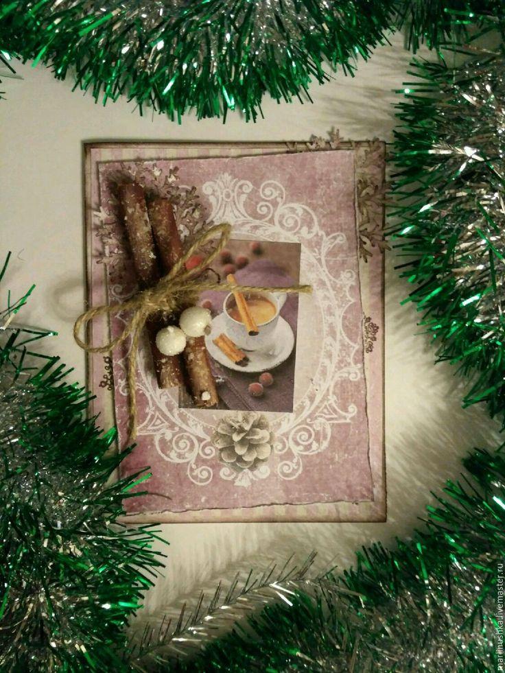 Купить Новогодняя открытка - новогодняя открытка, Открытка новогодняя, открытка с новым годом