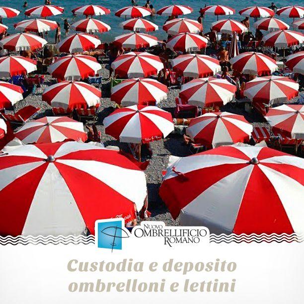 Ricordiamo ai nostri clienti del Lazio che esiste la possibilità per l'inverno di far custodire tutta l'attrezzatura da spiaggia nei nostri depositi. Prima della nuova stagione vi riconsegneremo ombrelloni e lettini lavati e risistemati. 🚛⏰💆🏻#nostress  👉🏻 http://www.ombrellificioromano.com/custodia-lettini-ombrelloni/  #nuovoombrellificioromano #ciaoestate #estate2017 #ombrelloni #lettini #spiaggia #sdraio #mare #caldo #estate #configuratore #crealatuaspiaggia #progettalaspiaggia…