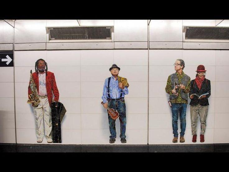 "Vik Muniz's ""Perfect Strangers"" (New York Governor's Office)"