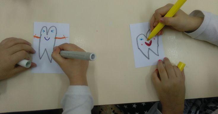 Ένα Νηπιαγωγείο γεμάτο Χαμόγελα... : Πρόγραμμα Στοματικής Υγείας - Επίσκεψη Παιδοδοντίατρου!!!