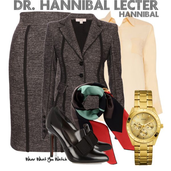 """Hannibal"" by kerogenki on Polyvore (Not a fan of this show but that dress suit is just too good to not pin)"