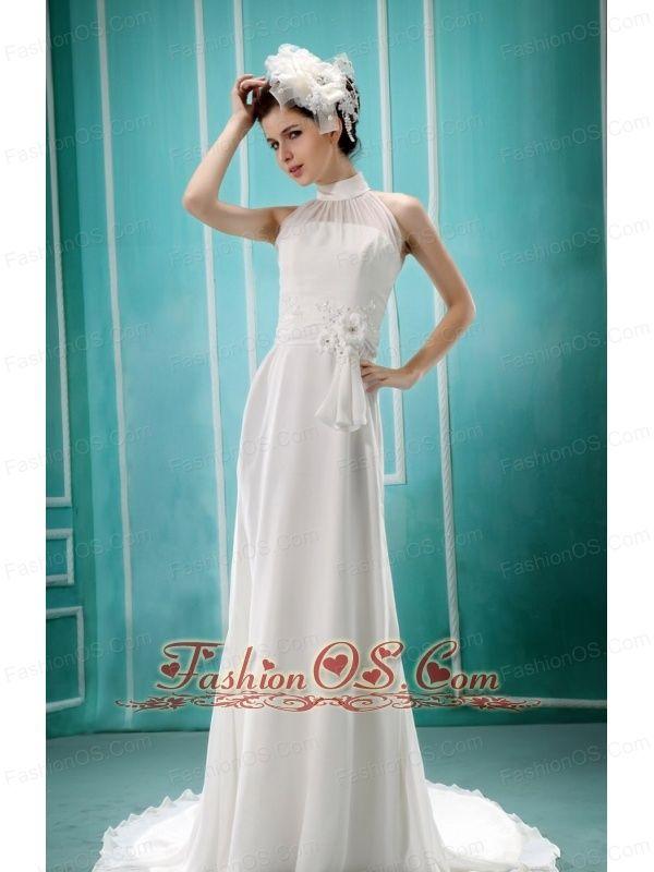 11 best Latest High-neck Wedding Dresses images on Pinterest | Short ...