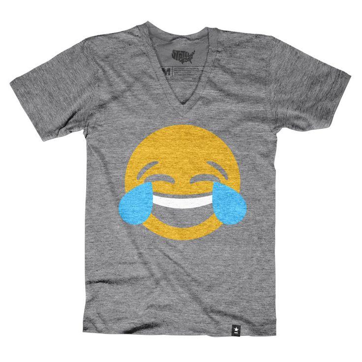 Crying Laughing Emoji T-shirt - Preorder