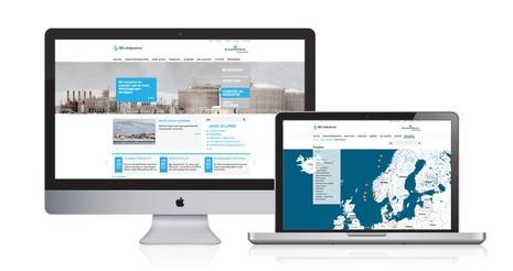 New website for BIS Industrier (Bilfinger Berger Industrial Services)