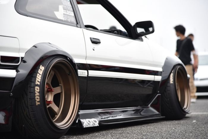 COROLLA LEVIN / SPRINTER TRUENO - AE86 | Lowered, Stance, JDM