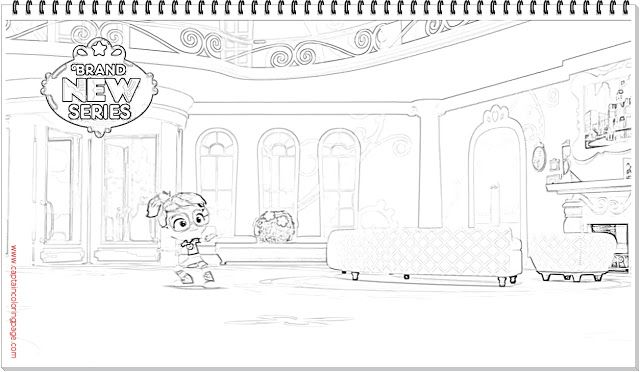 Abby Hatcher Coloring Page Coloring