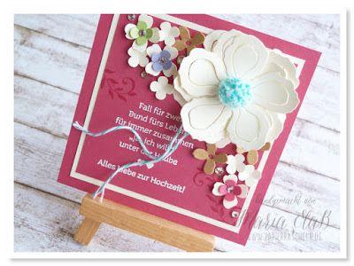 kreativ durcheinander BlogHop – Sommerhochzeit // Anne vom #kreativersum heiratet #kreativdurcheinander #papierrascheln #botanicalblooms