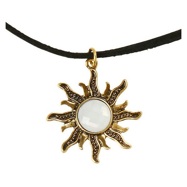 LOVEsick Sun Choker Hot Topic ($5.95) ❤ liked on Polyvore featuring jewelry, necklaces, choker necklace and choker jewelry