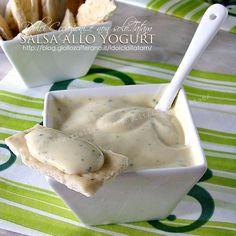 Salsa allo yogurt | provata con polpettine per un aperitivo:perfetta