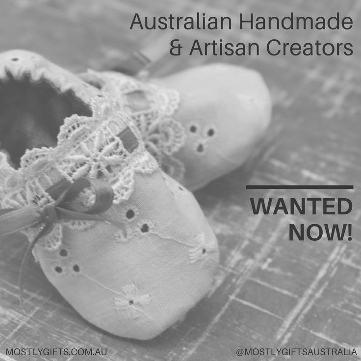 Australian Handmade & Artisan Partners WANTED!  We are searching for amazing Australian Handmade or Artisan Makers to showcase your amazing creations as part of an exciting new project.  TAG @MostlyGiftsAustralia on Instagram to get your Australian handmade goods and DIY projects showcased!  FOLLOW our link to learn more about how you can partner with us on exciting promotions for your Australian handmade and artisan products.