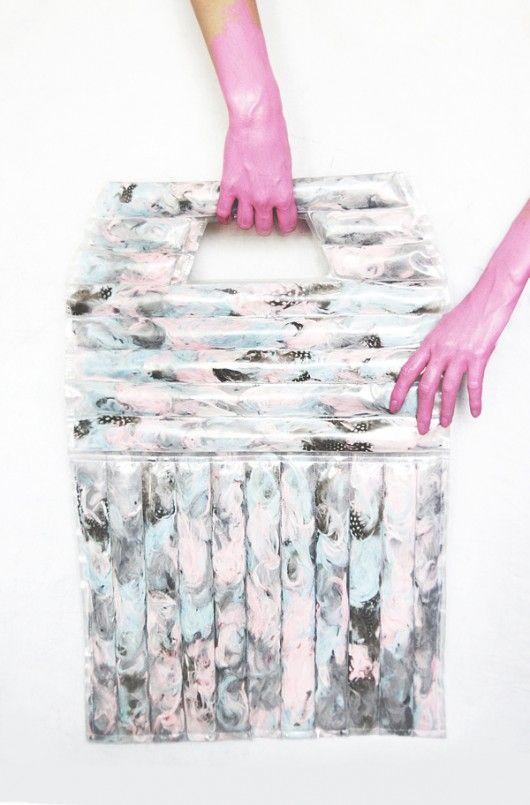 maxi bag pastel