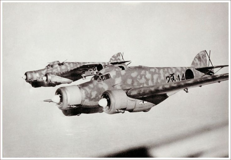 Spain - 1936-39. - GC - Savoia Marchetti S. 79 altrough being the best Torpedo bomber.