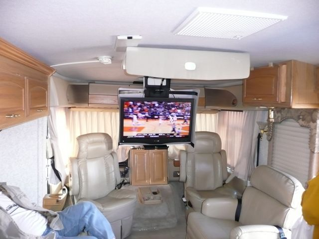 Rv Now Big Screen Tv In A Small Rv No Problem Rv S