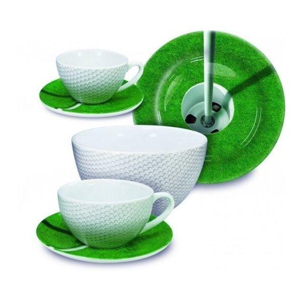 Krásný dárek pro golfové nadšence - Golfová snídaňová sada