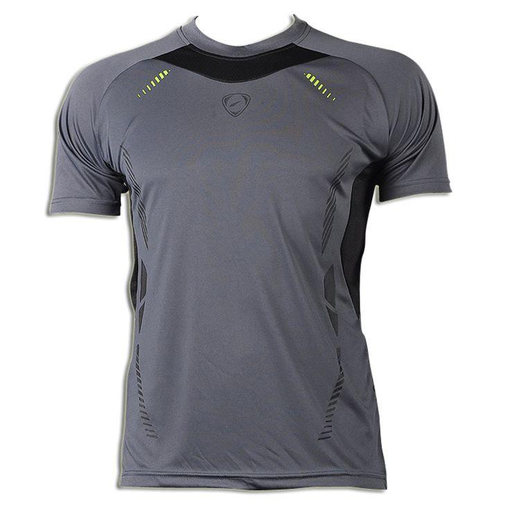 New Arrival 2016 Men Designer T Shirt Casual Quick Dry Slim Fit Shirts Tops  U0026 Tees