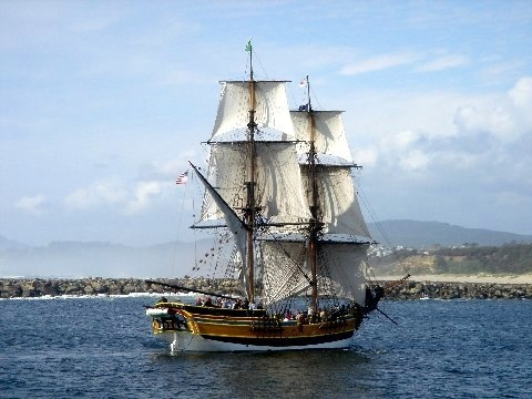 Tall Ship ~ Newport, Oregon:  Julie ~ By the Sea ~