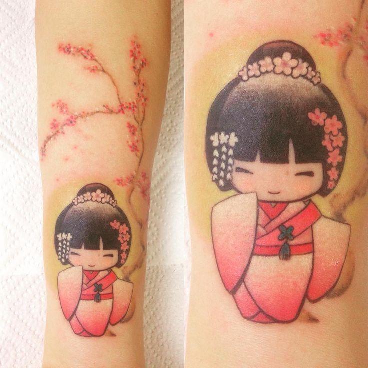 """Résultat de recherche d'images pour """"kokeshi tattoo"""""""