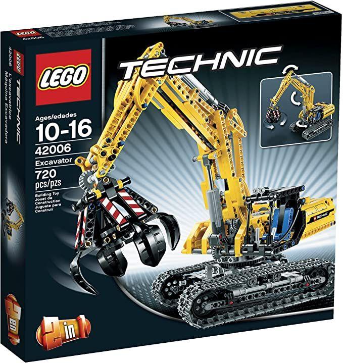 LEGO Technic Bauanleitung 42006 neu