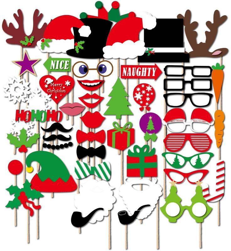 diy christmas photo prop ideas - 1000 idées sur le thème Christmas Booth sur