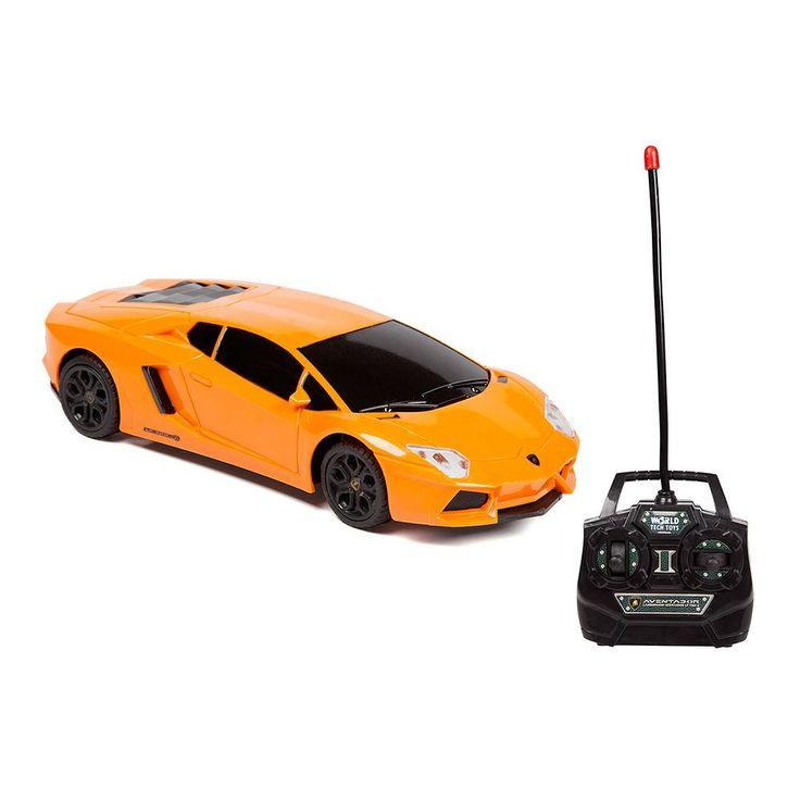 Lamborghini Aventador LP 700-4 Remote Control Car by World Tech Toys, Orange