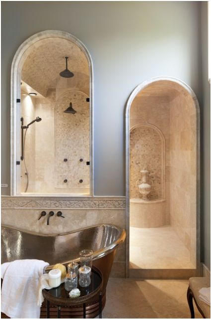 Bathroom old world style