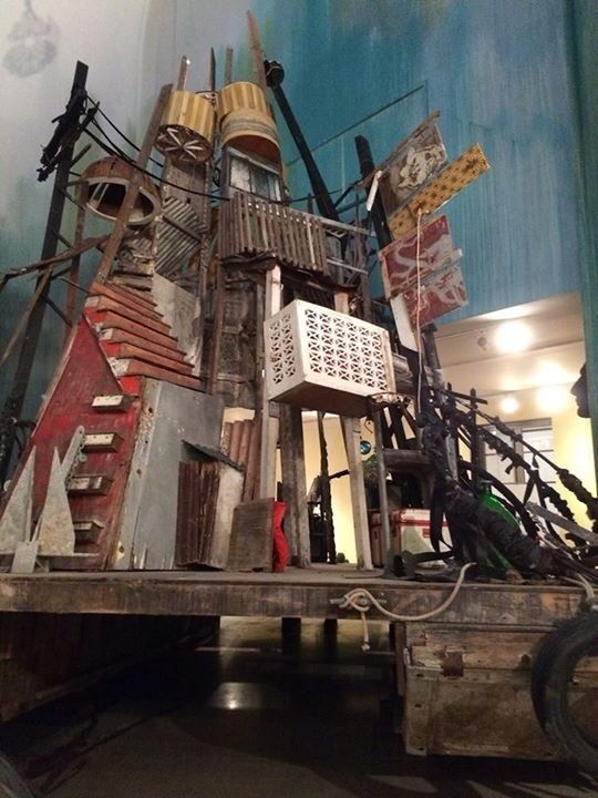 Swoon Artist Installation Exhibition Brooklyn Art Museum New York