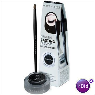 The one and only eyeliner that I use at the time. It's so easy to use and looks great (plus it doesn't make a mess). Only minus is that it's too easy to lose the brush...