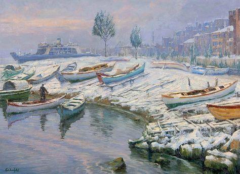 20 Ünlü Türk Ressamın Manzara Resimleri #türk #ressam #manzara #resim#tablo #sanat